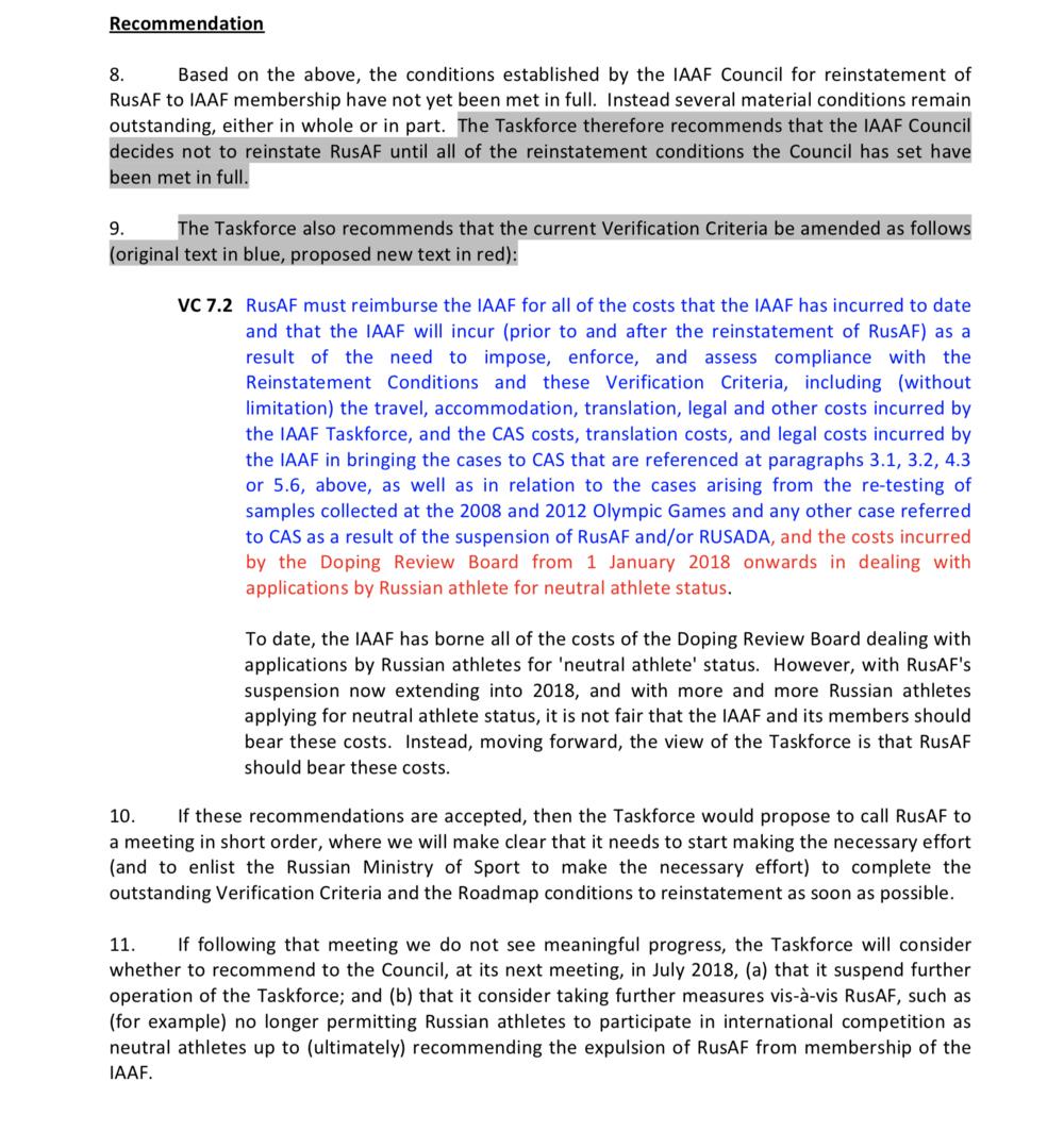 Screencap:iaaf-taskforce-report-to-iaaf-council-6-march.pdf