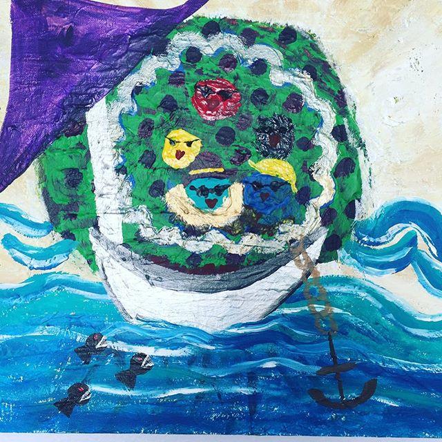 #processpainting #intuition #painting #onlinecounseling #mentalhealth #hanalokahi #hanalokahitherapy