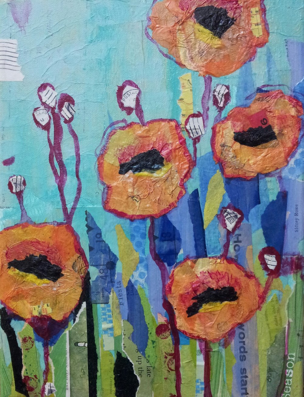 California Poppies -