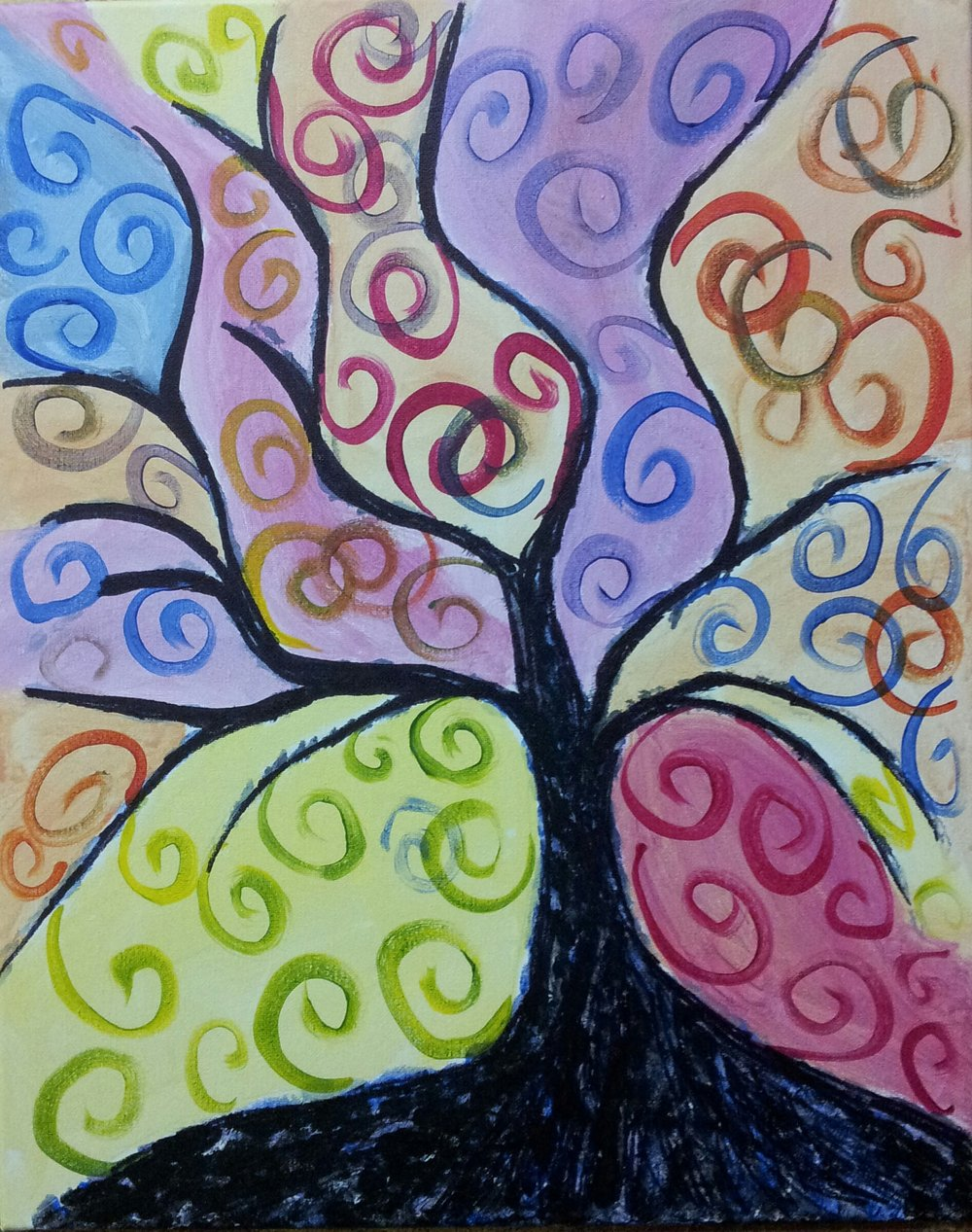 Tree of Colors -