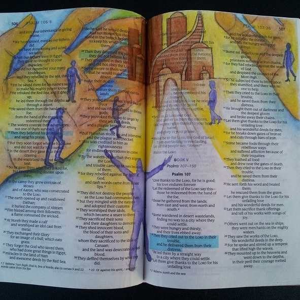 Bible Journaling - July 15, 9 - 12 noon