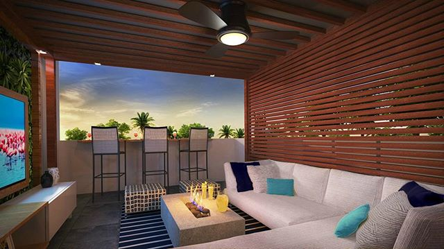 ... Exclusively To Designu0027s New Rooftop Terrace Project For Their Client In  North Miami Beach.