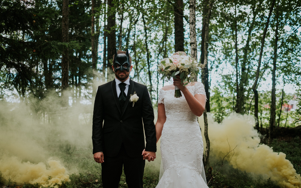 Batman wedding image