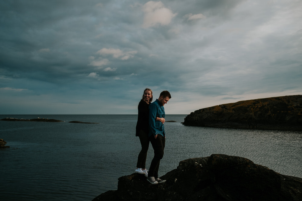 Merethe & Lars - engagement session at Saltstein