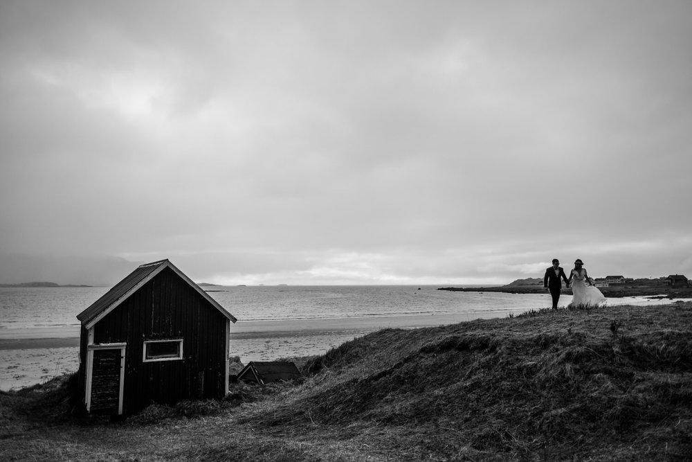 Elopement photographer wedding Lofoten