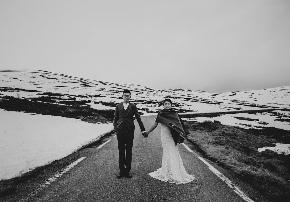 Aurland pre wedding adventure