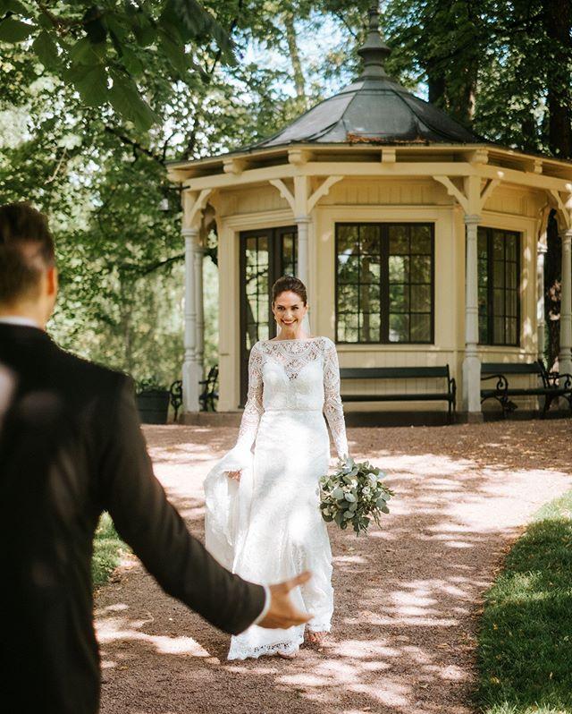 First look! En superkoselig måte å starte bryllupsdagen på, bare deg og din kjære😊