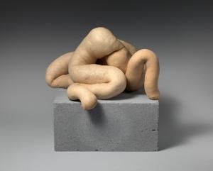 Sarah Lucas's anthropomorphic  Nud Cycladic 9