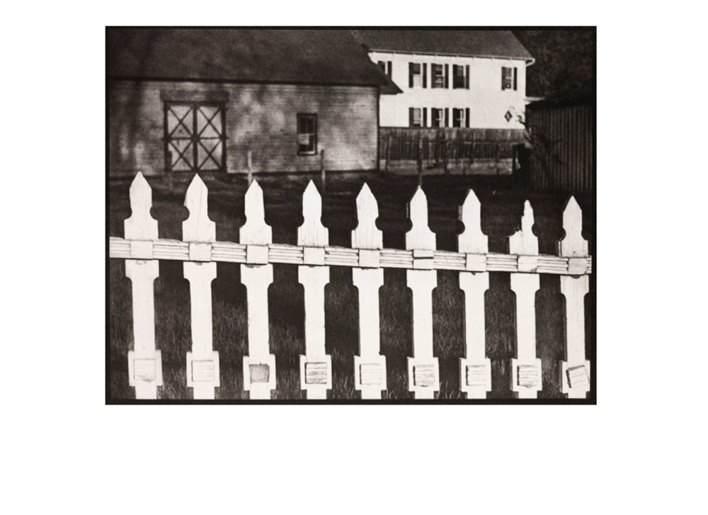 Paul Strand White Fence 1916
