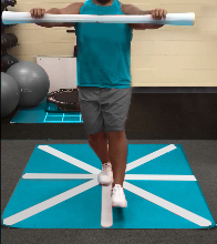 Exercise to improve balance for seniors and athletes