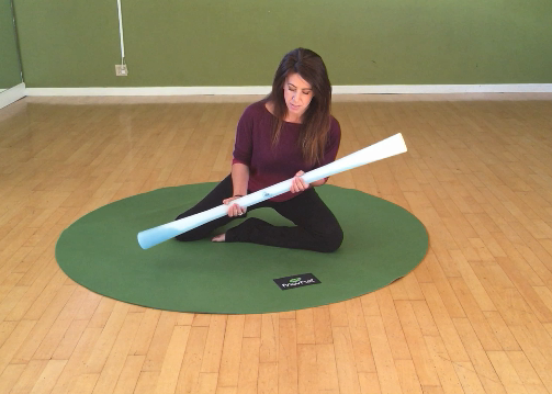 Practice relaxation and coordination with an enhanced proprioceptive sense