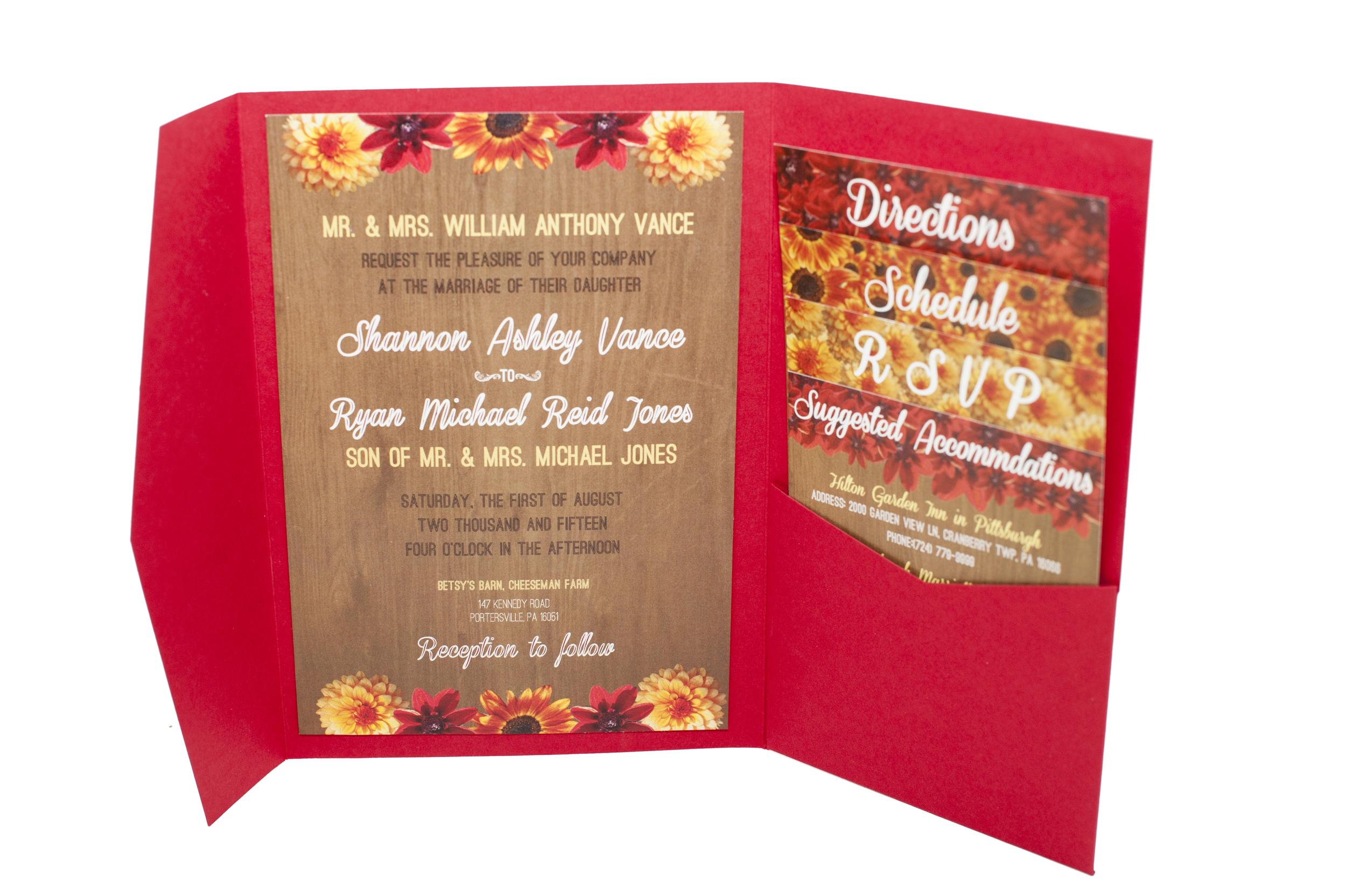 Wedding invitations — Allegheny Archives & Media, LLC