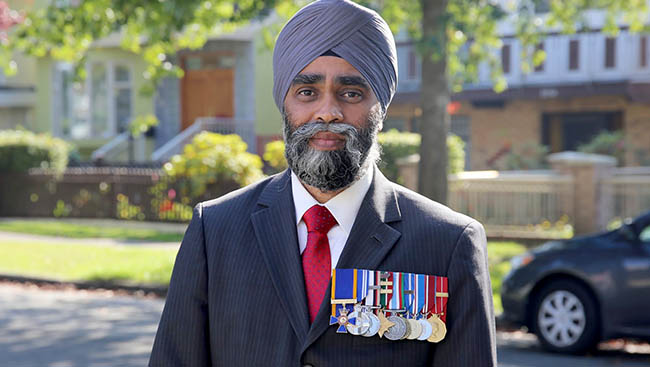 HARJIT SAJJAN - CANADIAN MINISTER OF NATIONAL DEFENCE@HARJITSAJJAN