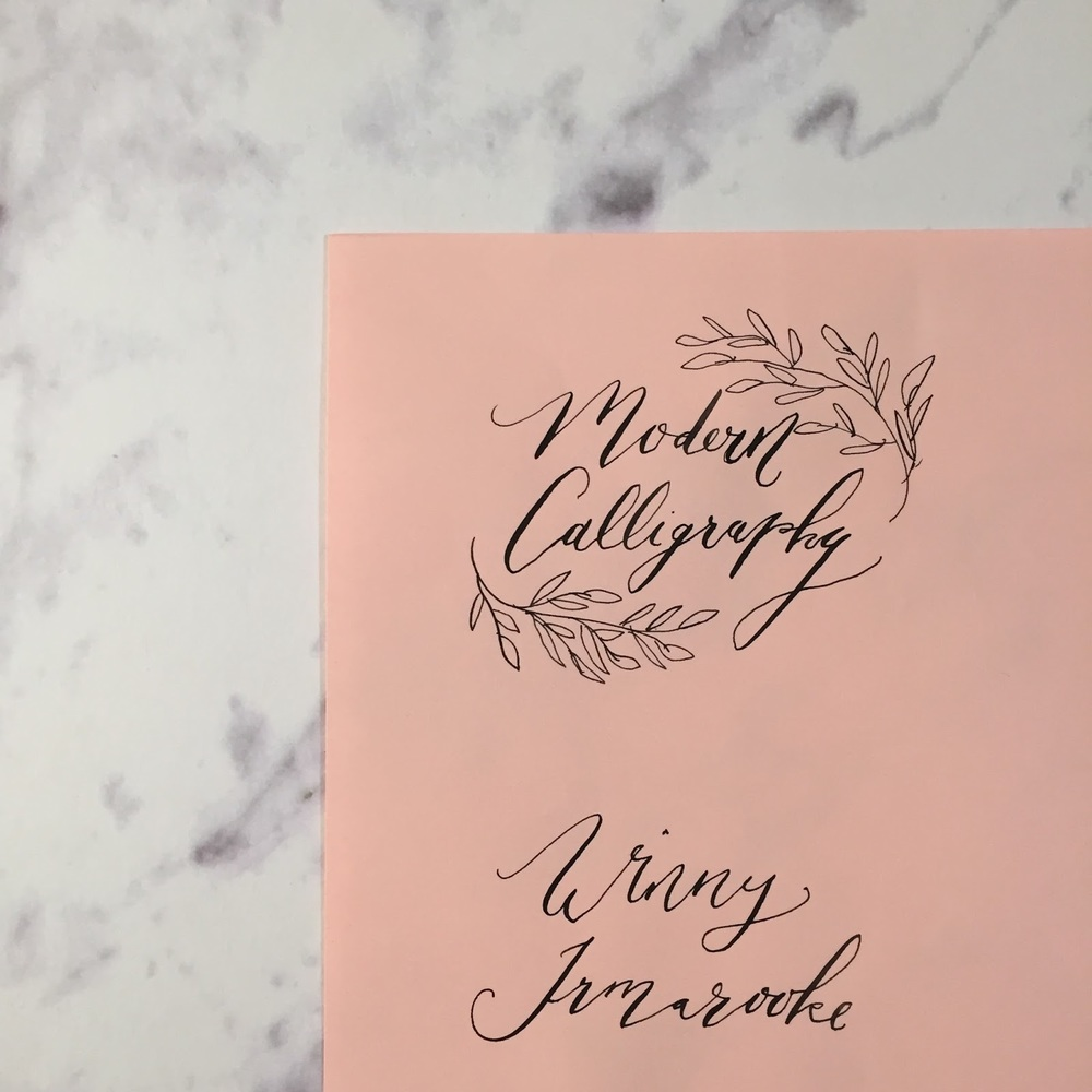 Modern Calligraphy