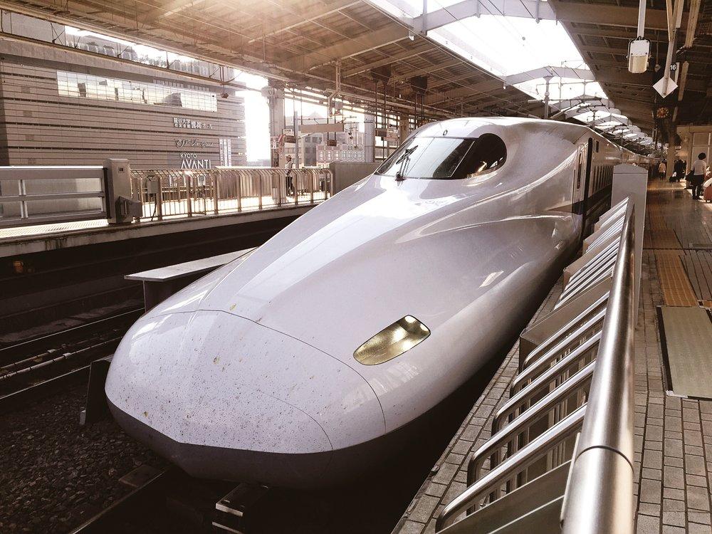 Nozomi Shinkansen. The fastest Shinkansen.