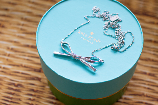 Skinny Mini Bow Necklace
