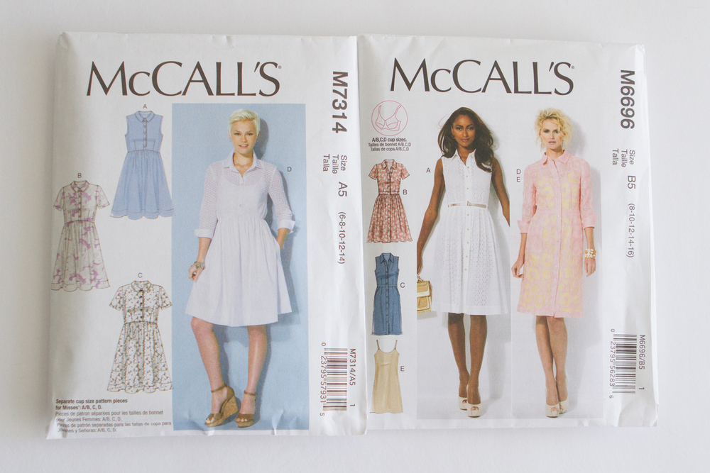 McCall's M7314 & M6696