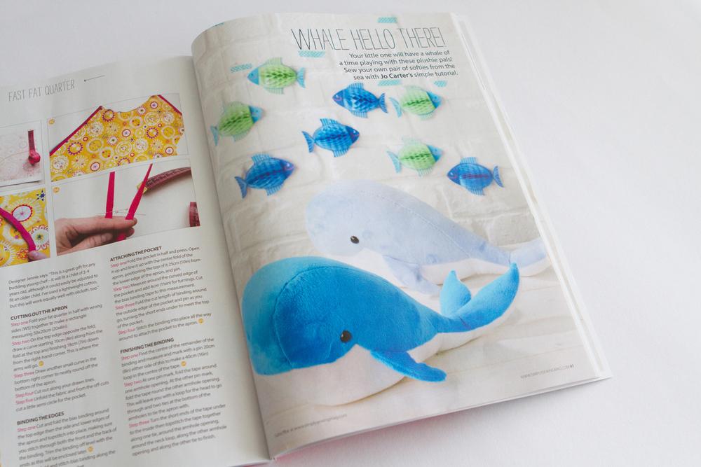 Whale plushies. So cute!