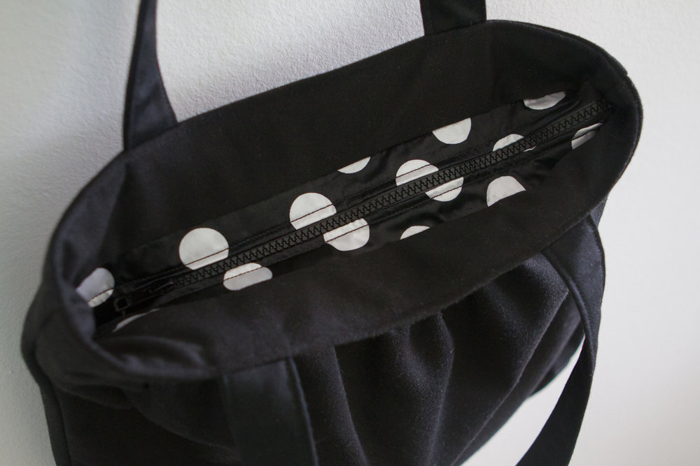 Zipper opening