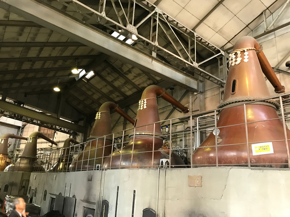 Nikka Whisky Distillery in Yoichi