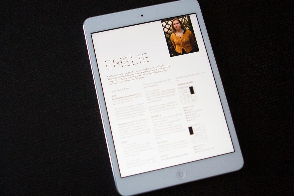 Emelie pattern by Elin Berglund
