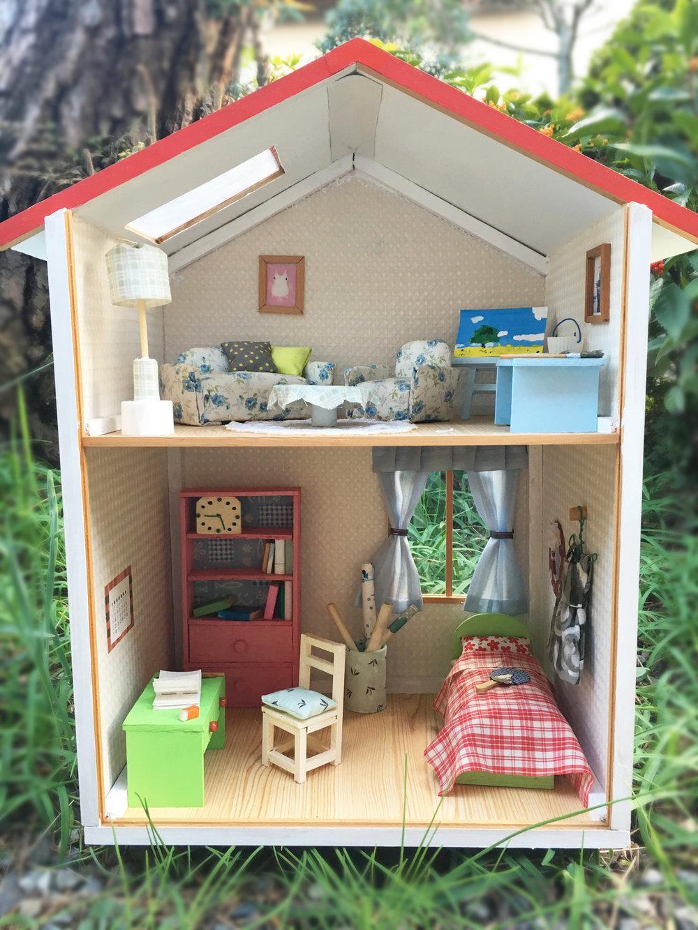 My miniature house
