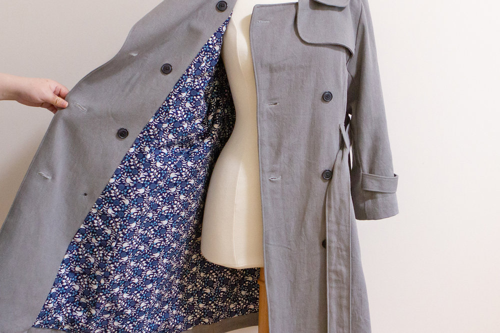 Lined robson coat