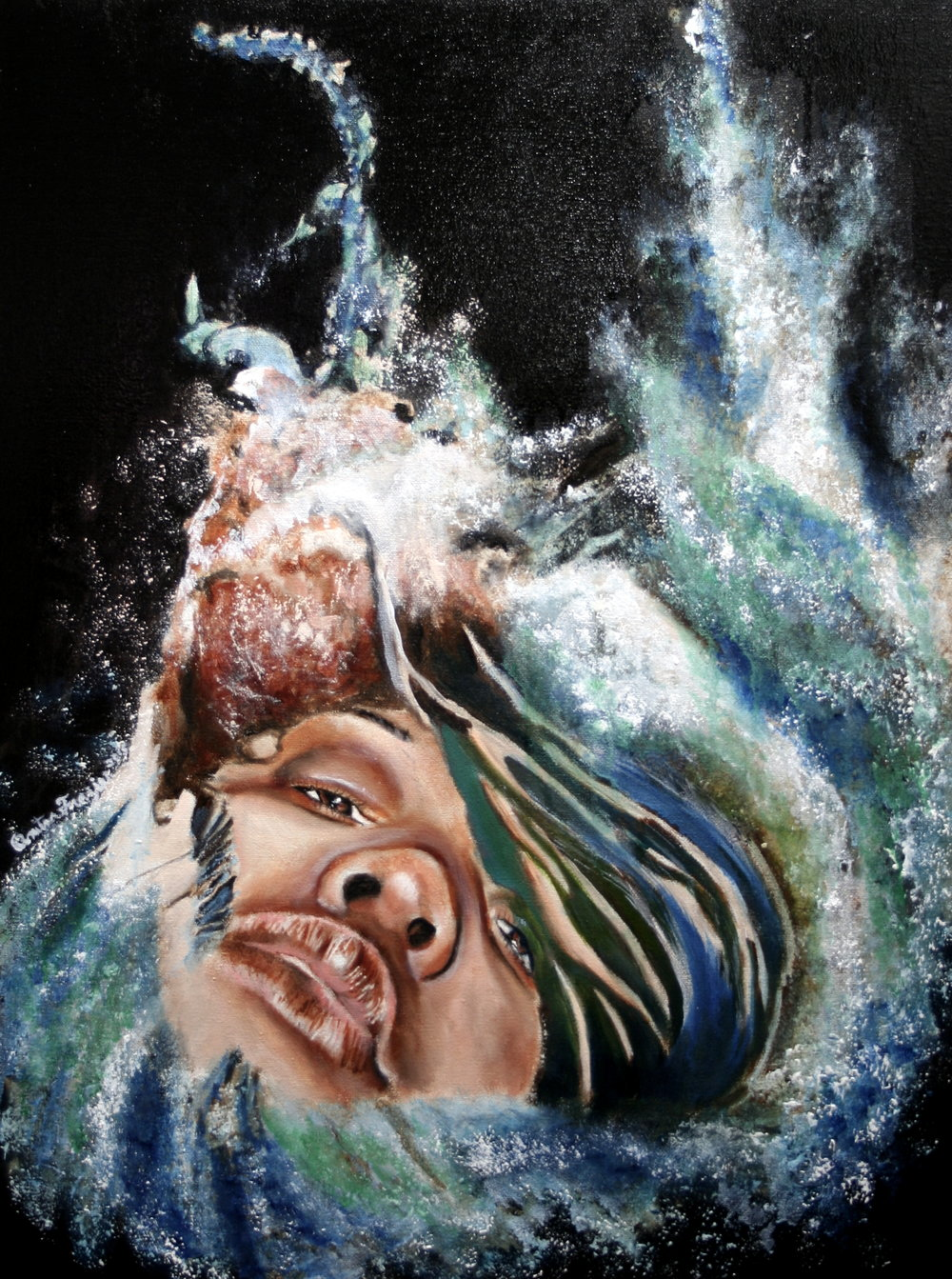 KEEPING MY HEAD ABOVE WATER