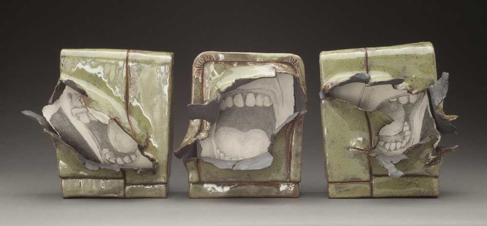 Scarred Triptych