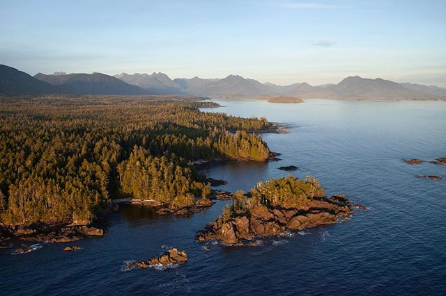 There is nothing better than golden hour from the air.  Photo by @nicktemos #vancouverisland  #yourtofino  #sharevi  #explorevancouverisland  #pacificnorthwestco