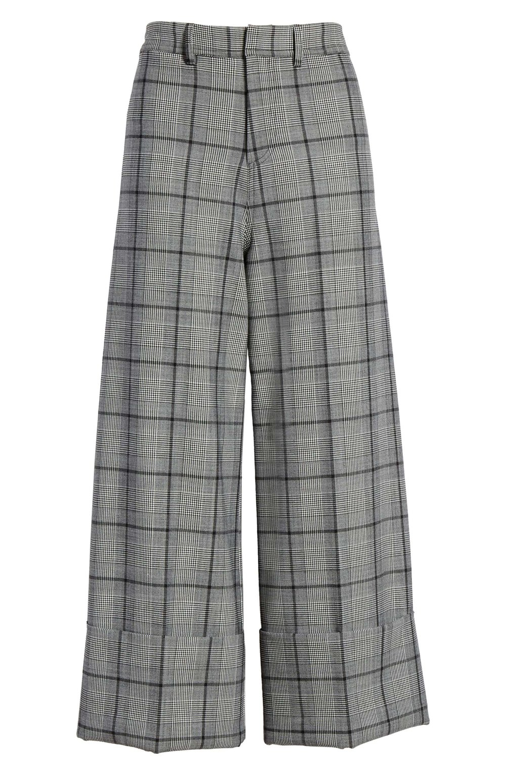 Sea Bacall Cuff Crop Wide Leg Pants - Wide leg pants = comfy. Cropped wide leg pants = totally on trend. I can just picture these short pants with a pair of white heeled booties poking out.