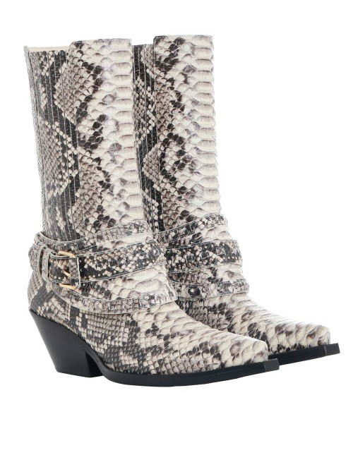 Zimmermann Cowboy Mid Boot - I will admit I am not the biggest fan of the cowboy boot trend, BUT I am loving this Zimmermann snakeskin pair. The boot is a perfect height and the print distracts from the fact that it is a more western style.