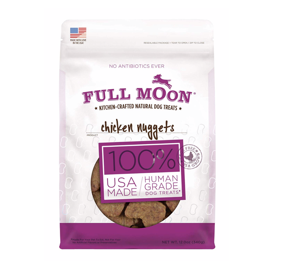 Organic Treats - My pups love this brand. They go crazy over the chicken strips.