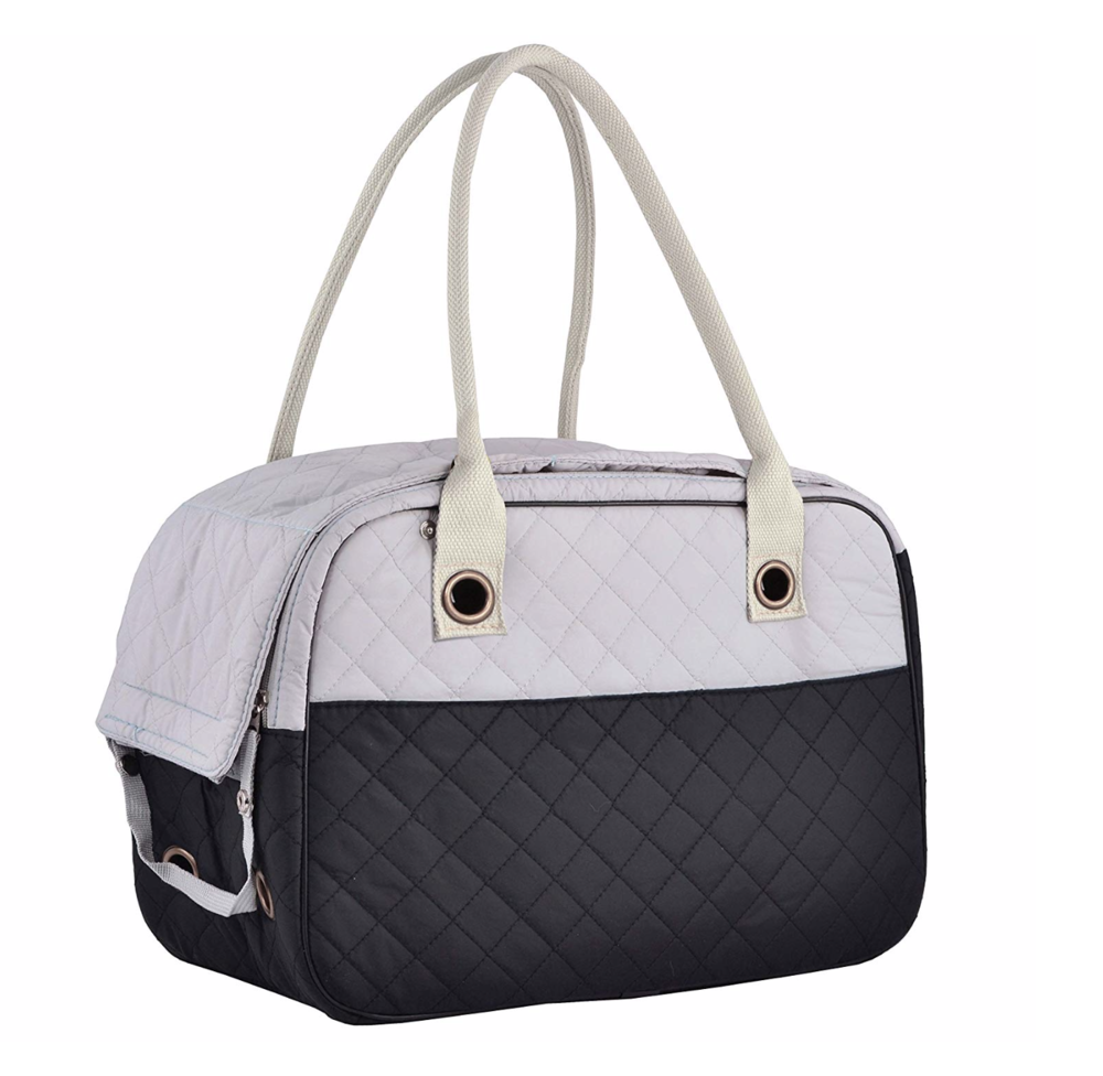 Pet Carrier - This is suitable for smaller puppies and even cats. It is a little more stylish than the classic dog carrier.