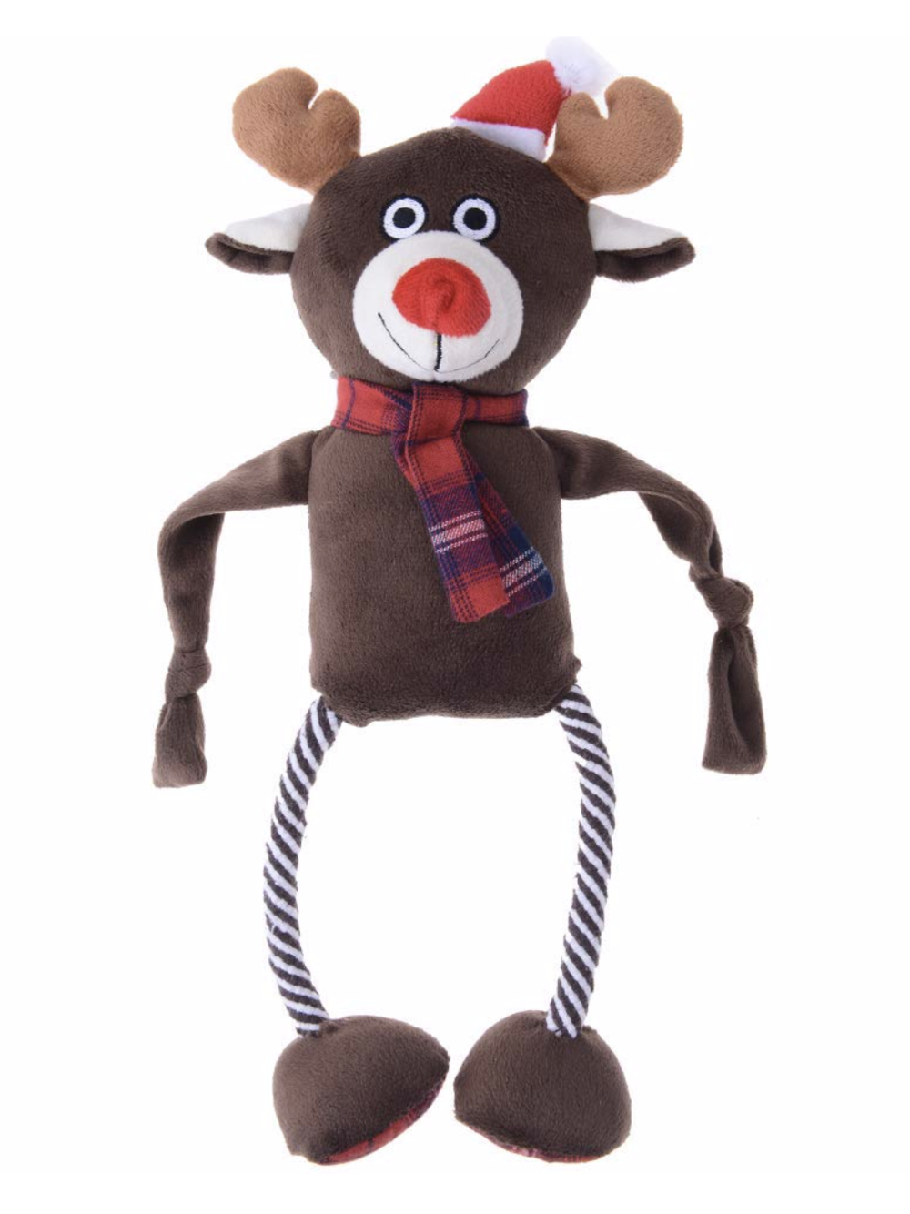 Reindeer Toy - We always seem to end up buying reindeer toys for my pups around Christmas time. I haven't heard any complaints from them yet!