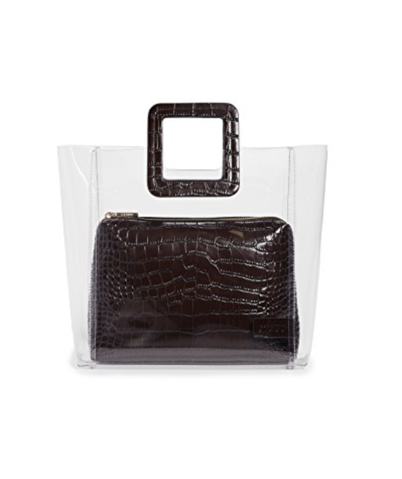 Clear Bag - These have been a trend for quite some time now, but I love the look of a clear bag with another bag in the middle of it.