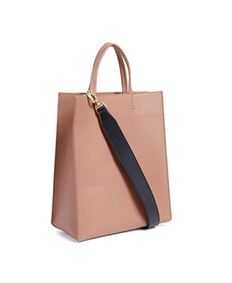 Tote Bag - Totes are necessary for anyone who carries a lot around at once. Plus this one has a long strap and a top handle.