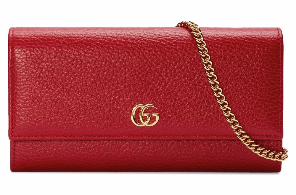 Gucci Wallet on a Chain - A nice little purse is a gift that someone will keep forever.