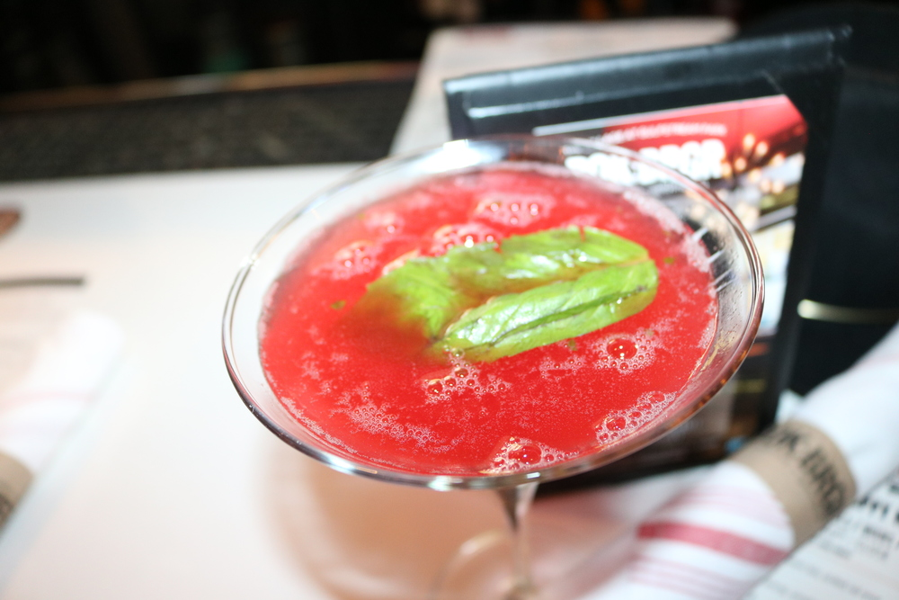 ROK Brgr: Strawberry Martini