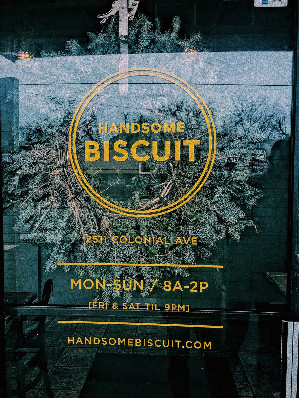 handsome biscuit door