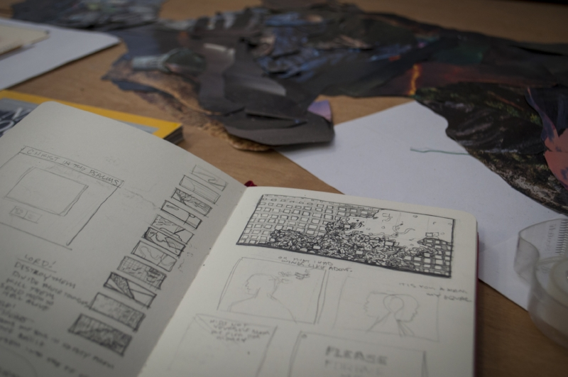 Jeremy Grant's Sketchbook