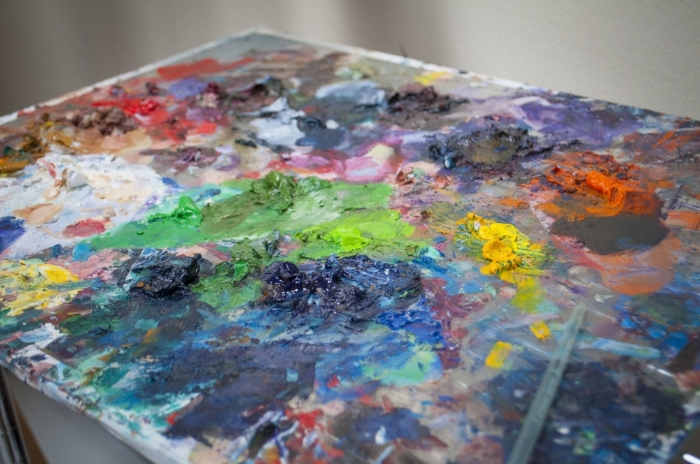 Cassandra Zook Painting Palette