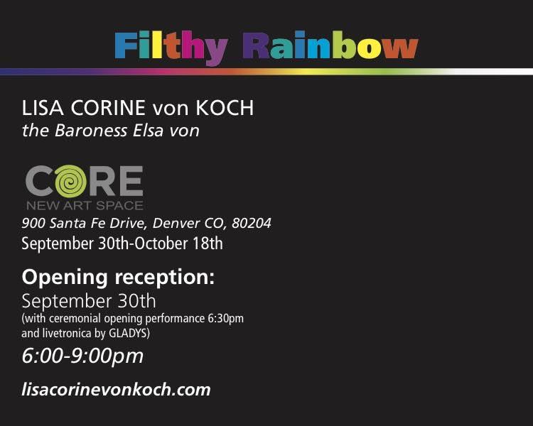 Filthy Rainbow - Lisa Corine von Koch