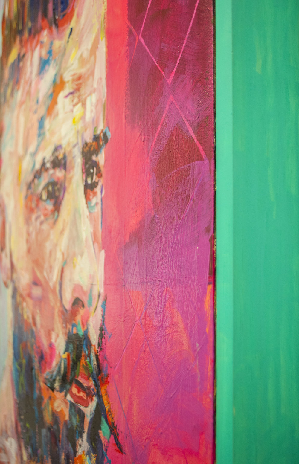 Jonathan McAfee Detail   Green Frame