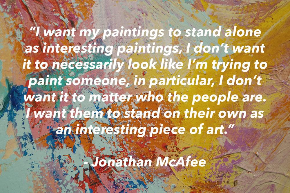 Jonathan McAfee Quote