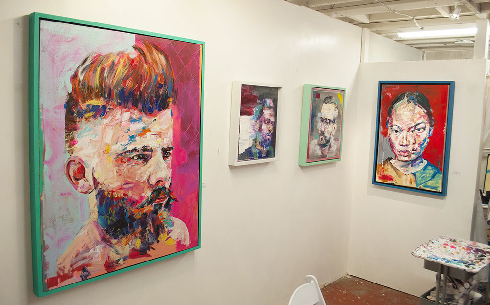 Jonathan McAfee's Studio in Denver, CO