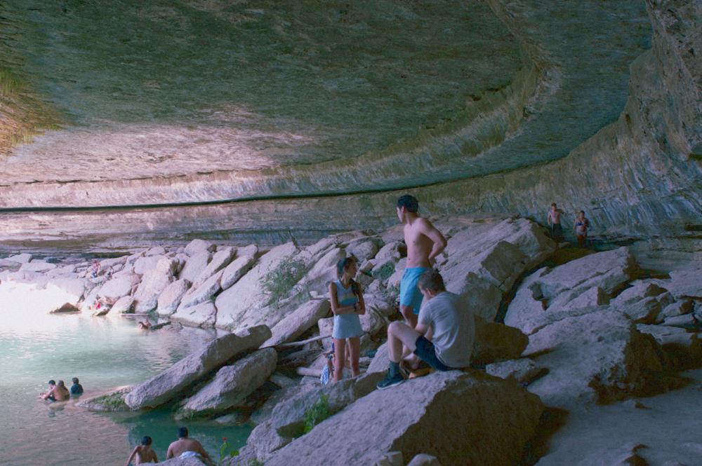 hamilton pool, October 2015
