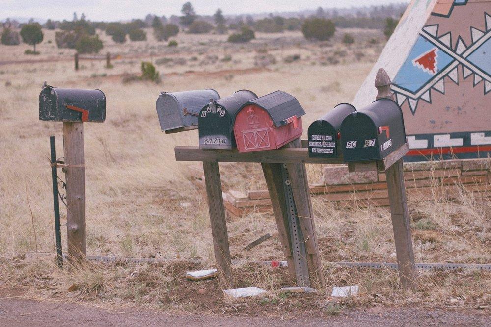 mailboxes, April 2015