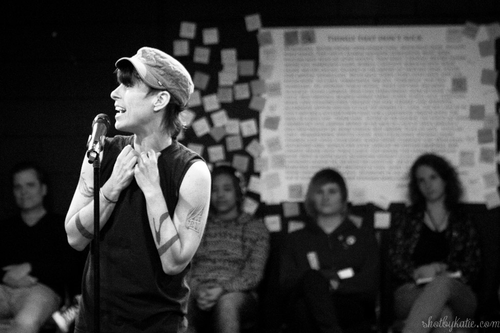 I traveled to the US last month and had the absolute pleasure of seeing Andrea Gibson perform. Life changing. Highlight of my holiday. Truly amazing.  #AndreaGibson #AndrewGibby #ohio #OtterbeinUniversity #CMH #USA #yolosolousa #shotbykatie #blackandwhite #poetry #poet #spokenword #slampoetry