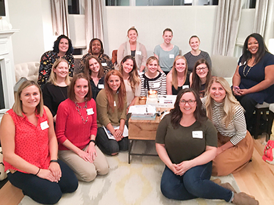 The Detroit Chapter Tuesday's Together - Rising Tide - Group Gathered for a great presentation on blogging - www.lisavillellaphotography.com